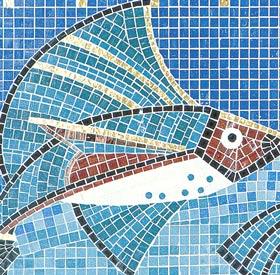Рисунки укладки мозаики